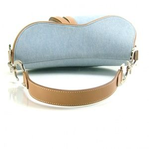 Dior Bags - Denim Christian Dior Saddle Bag - MINT CONDITION!
